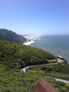 Hwy 101 north of Coos Bay, OR