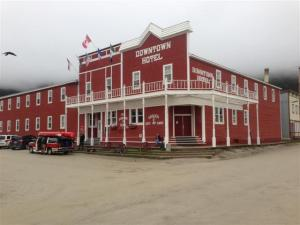 Our hotel in Dawson City, Yukon Yerritory